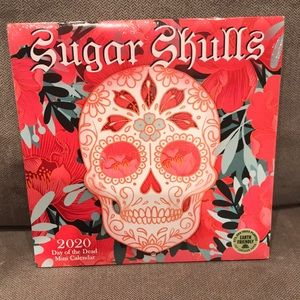 Sugar Skulls Day of the Dead Mini Calendar 2020